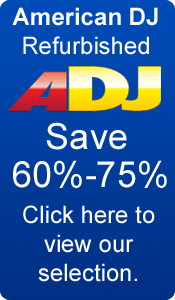 American DJ Refurbished Equipment